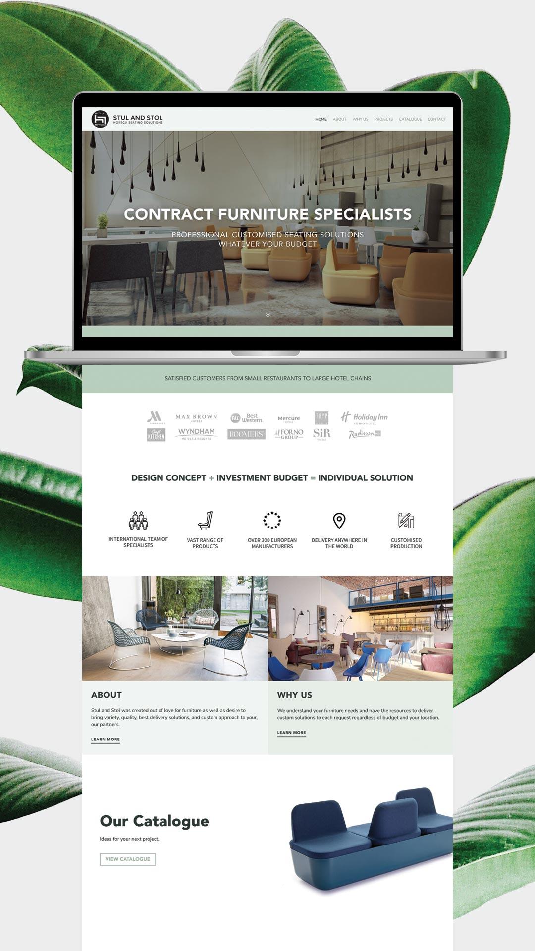 Stul and Stol Website by gabuko