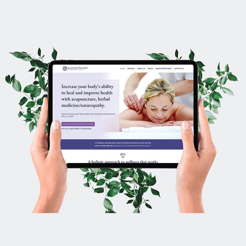 Jacaranda Therapies Website